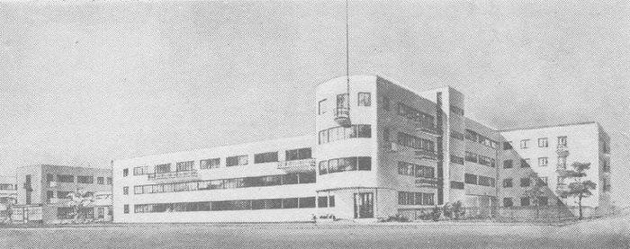 Запорожье. 2-й квартал города. В. Летавин и Г. Орлов. Общежитие (дом-блок). Перспектива