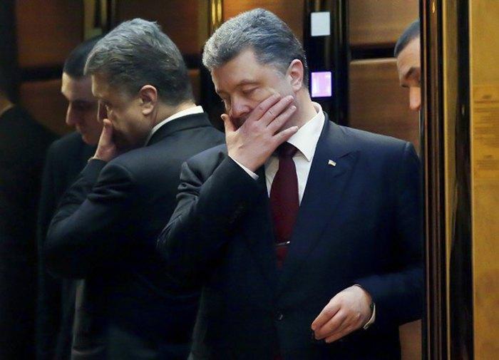 Петро Порошенко після переговорів у Мінську, 11 лютого 2015.