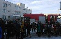 Пожежу в школі в Чигирині встигли загасити до приїзду пожежників