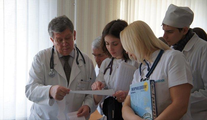 Навчальний процес в Івано-Франківському національному медичному університеті