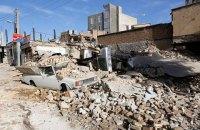 Влада Ірану оцінила збиток від землетрусу на суму $450 млн