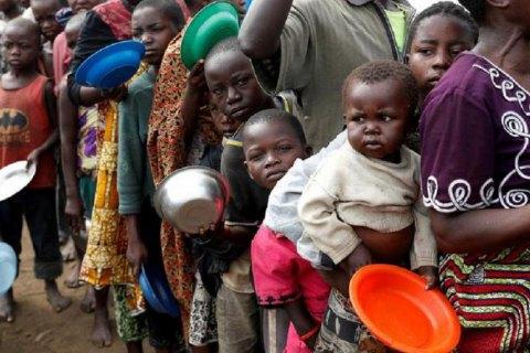 ООН: 41 мільйон людей у 43 країнах світу перебувають на межі голоду