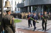 Зеленський ушанував пам'ять 49 військових, загиблих у збитому під Луганськом Іл-76