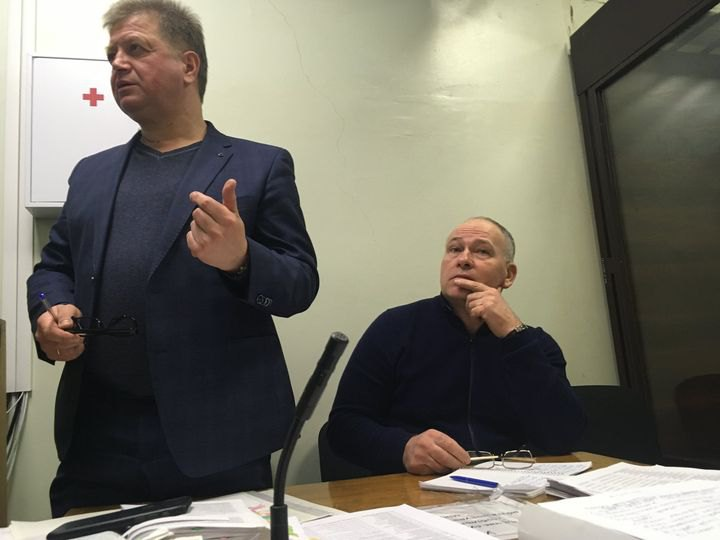 Олександр Кравченко (праворуч)