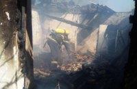 Трое детей погибли при пожаре в Кировоградской области