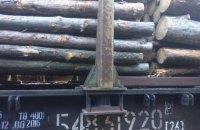 Пограничники задержали 29 вагонов с лесом-кругляком, следовавших в Румынию