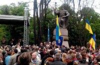 Порошенко открыл памятник Мазепе в Полтаве