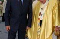 """""""Після візиту країна стала ближчою до європейської цивілізації"""", – Кучма у річницю відвідин Папи Римського України"""