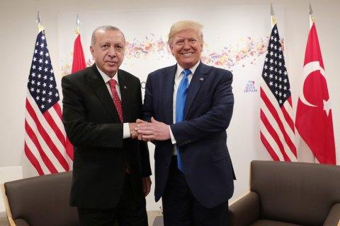 Ердоган: Трамп пообіцяв не вводити санкції проти Туреччини за С-400