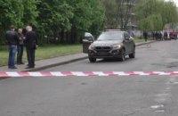 На вулиці Львова під час руху вибухнув автомобіль BMW