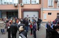 В Одессе во время штурма управления милиции ранили журналиста