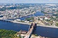 Киев намерен в 2017 году достроить арочную часть Подольского моста и подвесить его на ванты