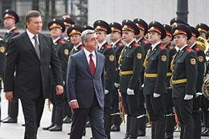 Янукович хочет наладить турбизнес с Арменией