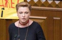 Заступниця голови фракції БПП у Раді знялася з виборів через низький рейтинг