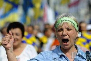Оппозиция требует принять подписи граждан в поддержку иска против Януковича