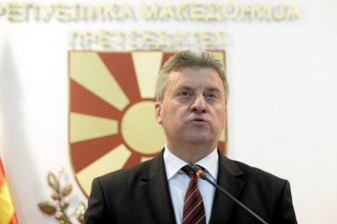 Президент Македонии отказался подписывать соглашение о переименовании страны