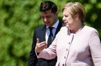 Зеленський поговорив по телефону із Меркель