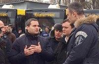 Кличко уволил зама по транспорту и главу Соломенского района из-за Шулявского моста