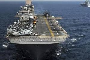 Два корабля столкнулись в Тихом океане