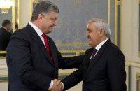 Порошенко обговорив з президентом SOCAR можливість виробництва авіапального в Україні