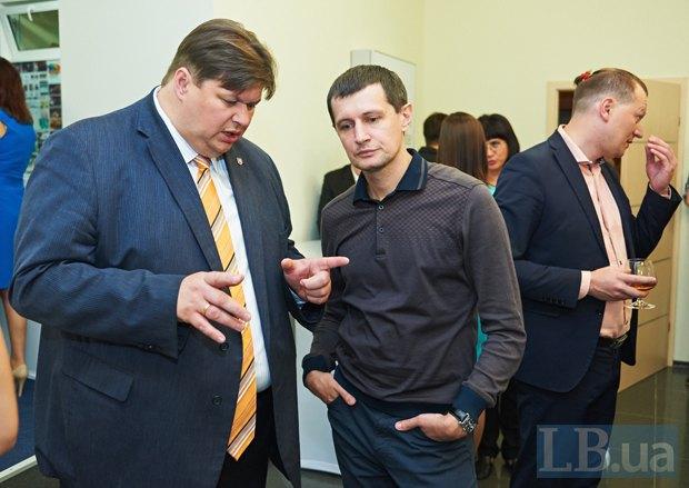 Игорь Балута и Роман Семенуха, народный депутат от <<Самопомощи>>