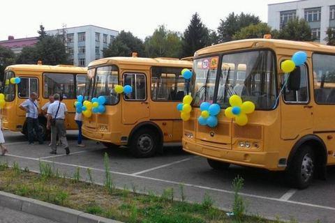 Украина купила у России 65 автобусов