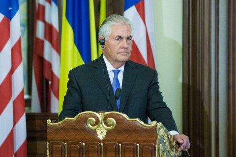 """Тиллерсон пообещал """"вернуться к вопросу Крыма"""""""