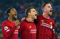 """""""Ліверпуль"""" усунув єдину перешкоду на шляху до свого першого за останні 30 років титулу чемпіона Англії"""