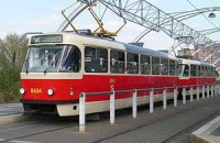 В Донецке горел трамвай