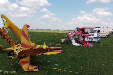Два легкомоторні літаки зіткнулися в Румунії, один пілот загинув