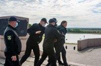 В Херсоне за нарушение карантина задержали трех участников акции к 9 мая