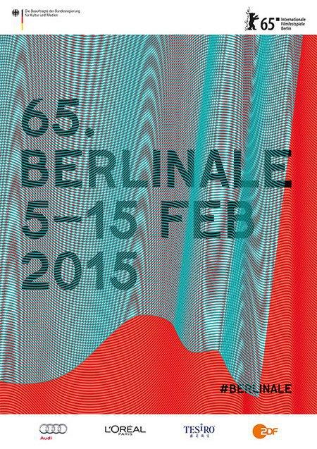 Офіційний постер 65-го Берлінського кінофестивалю