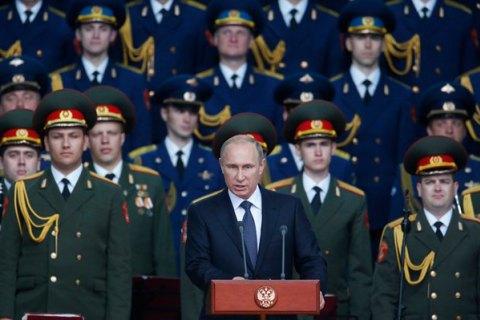 """Путин заявил о разработке в России лазерного оружия """"из фантастических рассказов"""""""