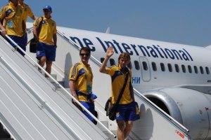 Збірна України вирушила до Англії