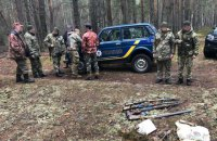 В Чернобыльской зоне задержали сталкеров-браконьеров
