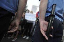 В Запорожье милиция избила журналиста за то, что тот пил пиво