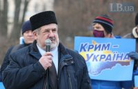 В окупованому Сімферополі з'явилися написи на підтримку Кримської платформи