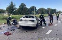 У ДТП на Черкащині загинув поліцейський із Закарпаття, його дружина та 12-річна донька