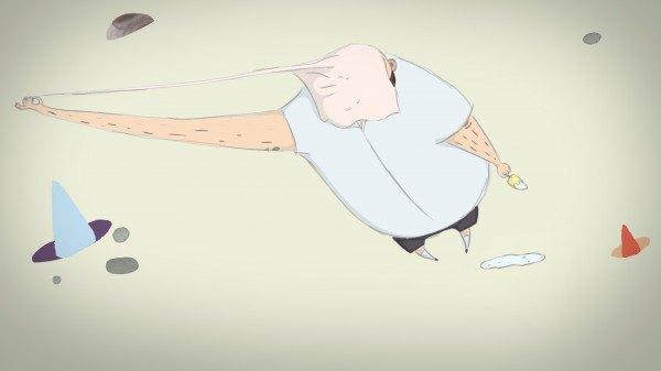 Кадр з короткометражки «Жуйка»