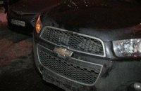 В Киеве на улице Ахматовой внедорожник сбил двух пешеходов на переходе