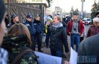 "Суд оставил под арестом задержанного под ВР активиста ""Синдиката"""
