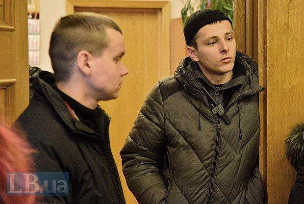 Вадим Гумен(справа)