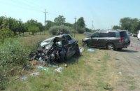 Четыре человека погибли, трое в больнице из-за неудачной попытки обгона в Херсонской области