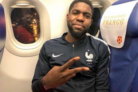 Прес-аташе збірної Франції осоромився на прес-конференції, переплутавши імена Умтіті і Погба