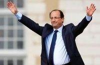Франсуа Олланд стал новым президентом Франции