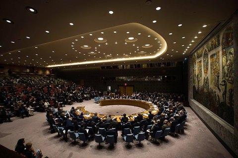 Радбез ООН не підтримав резолюцію Росії з приводу хіматак у Сирії