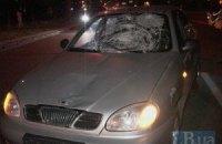 У Києві на Троєщині Daewoo збив на смерть пішохода-порушника