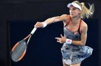 Цуренко проиграла восьмой ракетке мира в финале Brisbane International