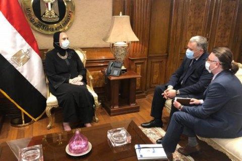Заместитель главы Офиса президента поехал с визитом в Египет
