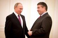 Глава МИД Германии поддержал заявление Путина о миротворцах на Донбассе